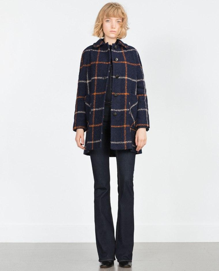 Manteau en laine bouclée, 89.95 -Zara