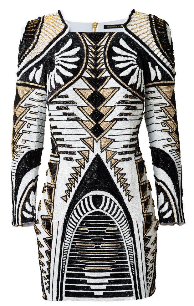 balmainxH&M DRESS