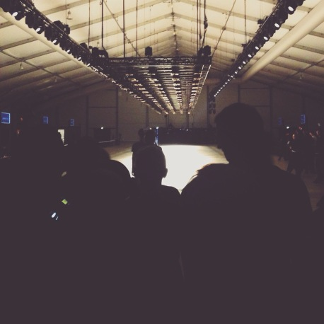 Backstage : Salle du show